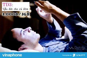 Hướng dẫn đăng ký gói TD3 Vinaphone