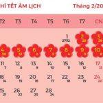 Lịch nghỉ tết Dương lịch và Tết Nguyên Đán năm 2019 chính thức từ Bộ Lao Động