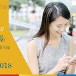 Mobifone khuyến mãi tặng 50% giá trị thẻ nạp ngày vàng 9/1/2018