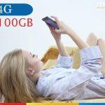 Tổng hợp các gói cước 4G có ưu đãi 100GB data của Mobifone năm 2018