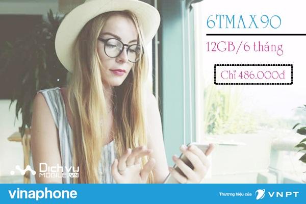 Hướng dẫn đăng ký gói 6TMAX90 của Vinaphone