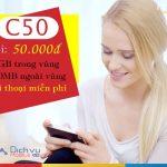 Hướng dẫn đăng ký gói C50 Mobifone ưu đãi hơn 60GB data, miễn phí gọi không giới hạn