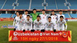 Lịch thi đấu trận Chung kết giữa U23 Việt Nam và U23 Uzbekistan