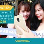 THÔNG BÁO: Viettel tạm ngưng cung cấp các gói Youtube và Facebook từ ngày 1/1/2018