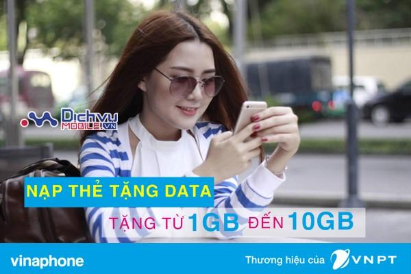 Vinaphone khuyến mãi ngày vàng data siêu HOT ngày 9/1/2018