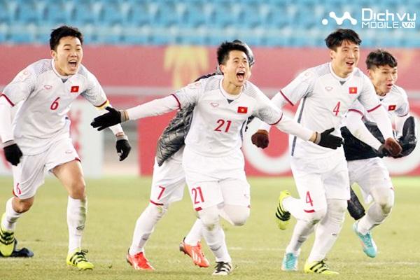 Vinaphone, Mobifone và Viettel cùng thưởng lớn cho U23 Việt Nam
