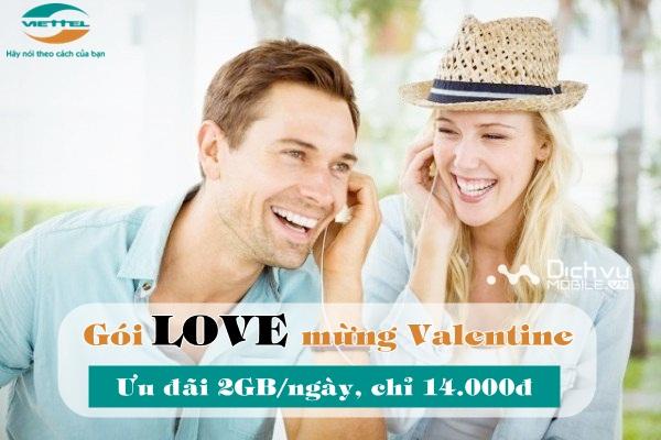 Viettel triển khai gói cước LOVE cho các cặp đôi mừng Valentine