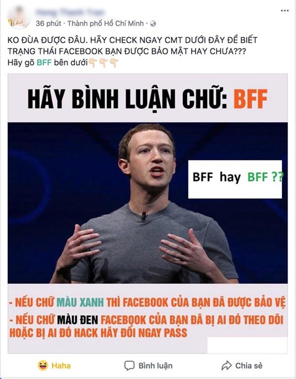 BFF là gì liệu có phải là tính năng bảo mật của Facebook?