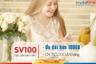 Gói SV100 Mobifone - Ưu đãi hơn 100GB data cho học sinh/sinh viên