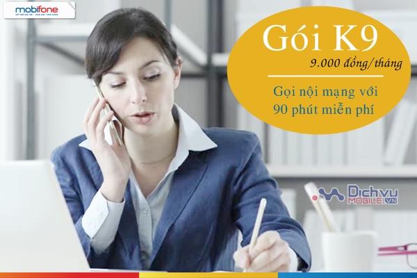 Hướng dẫn đăng ký gói K9 Mobifone