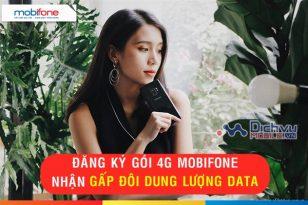 KHUYẾN MÃI SOCK: Mobifone nhân đôi dung lượng data khi đăng ký các gói 4G