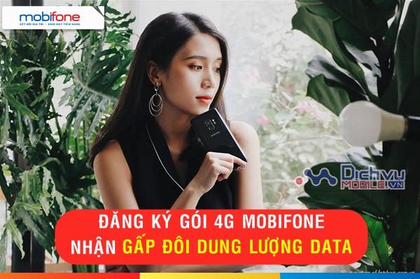KHUYẾN MÃI SOCK: Mobifone nhận đôi dung lượng data khi đăng ký các gói 4G