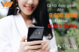 Mua Samsung S9/S9+ với giá rẻ hơn 9 triệu đồng với gói FPT990 mạng Vietnamobile