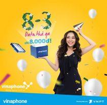 Nhận ngay 3GB/ ngày chỉ 8,000đ cùng gói N83 Vinaphone