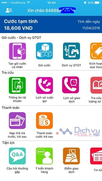 Hướng dẫn cách tải và cài đặt ứng dụng My Vinaphone bước 3