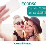 Hướng dẫn đăng ký gói cước ECOD50 Viettel