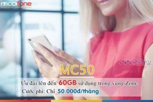 Đăng ký gói cước MC50 MobiFone