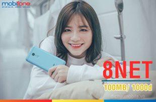 Hướng dẫn đăng ký gói data 8NET Mobifone giá rẻ, chỉ 1000đ