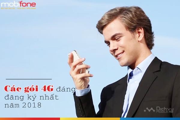Các gói 4G Mobifone đáng đăng ký nhất năm 2018