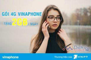 Cách đăng ký 4G Vinaphone ưu đãi 2GB/ ngày siêu Sock
