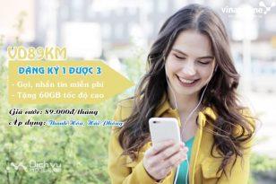 Hướng dẫn đăng ký gói VD89KM vinaphone
