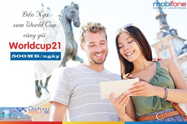 Hướng dẫn đăng ký gói Worldcup21 mạng Mobifone