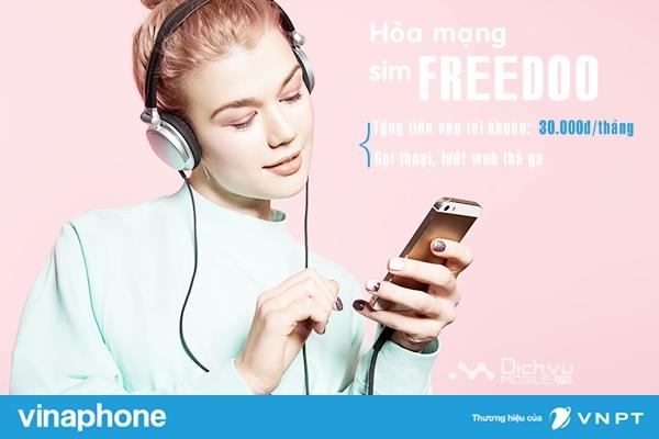 Sim FREEDOO VinaPhone là gì? Các khuyến mãi của Sim sẽ nhận được