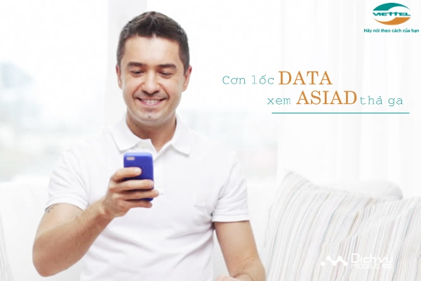 Viettel triển khai các gói cước data khủng chào ASIAD 2018