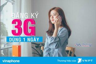 Cách đăng ký các gói 3G Vinaphone 1 ngày cho thuê bao trả sau chính xác nhất