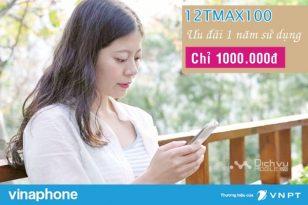 Hướng dẫn đăng ký gói 12TMAX100 của Vinaphone