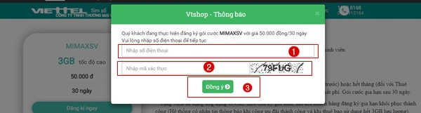 đăng ký gói MimaxSV