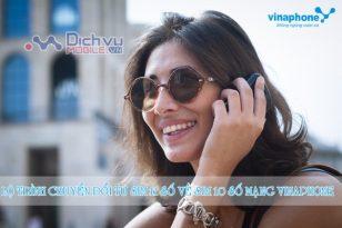 Lộ trình chuyển đổi sim 11 số về sim 10 số của nhà mạng Vinaphone