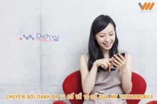 Hướng dẫn cập nhật danh bạ 11 số về 10 số qua ứng dụng My Vietnamobile