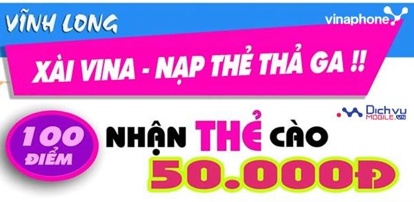 Đổi 100 điểm Vinaphone Plus nhận ngay thẻ cào 50,000đ siêu Hot