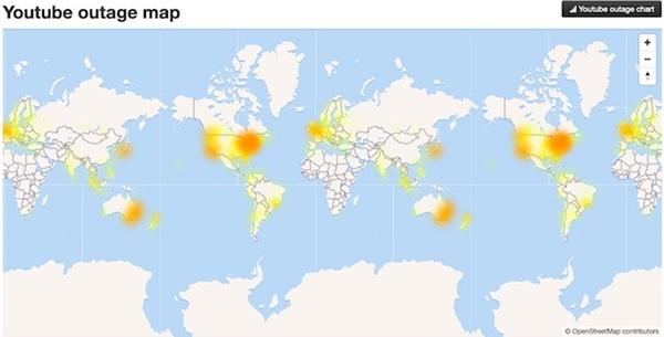 NÓNG: Youtube bị lỗi không thể truy cập ở nhiều nơi trên thế giới