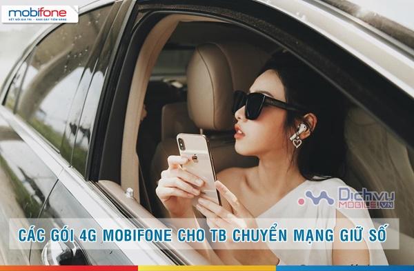 Các gói 4G Mobifone siêu Hot cho thuê bao chuyển mạng giữ số