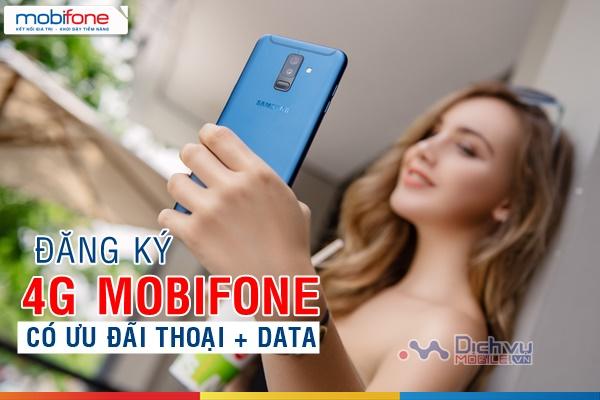 Các gói 4G Mobifone có ưu đãi thoại không cần thuộc danh sách vẫn đăng ký được
