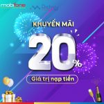 Chào năm mới 2019: Mobifone khuyến mãi tặng 20% thẻ nạp ngày vàng 9/1/2019
