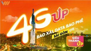 Đăng ký gói 4G Siêu Thánh Up Vietnamobile giá chỉ 50,000đ lướt web tẹt ga
