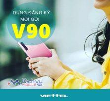 Thông Báo: Viettel ngưng áp dụng đăng ký mới với gói V90