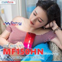 Hòa mạng gói MF150HN Mobifone nhận combo ưu đãi khủng chỉ 150,000đ