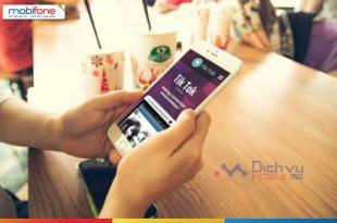 Đăng ký gói TikTok Mobifone nhận ưu đãi data hấp dẫn