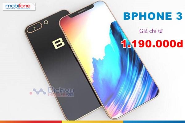 Mua Bphone 3 giá chỉ từ 1.190.000đ tại Mobifone
