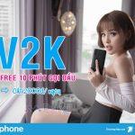 Gọi thoại Free mỗi ngày với gói V2K mạng Vinaphone