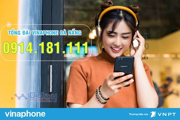 Hotline tổng đài chăm sóc khách hàng Vinaphone tại Đà Nẵng
