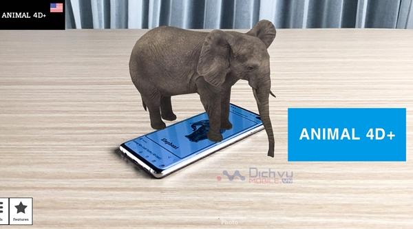 Animal 4D+ là gì? Cách tạo động vật 4D bằng Animal 4D+ trên điện thoại