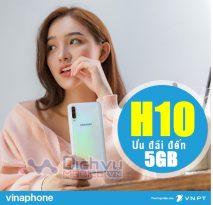 Lướt web tẹt ga với ưu đãi 5GB chỉ 10,000đ từ gói H10 Vinaphone