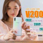 Gói cước V200 Viettel free gọi nội mạng, 200 liên mạng và 2GB mỗi ngày