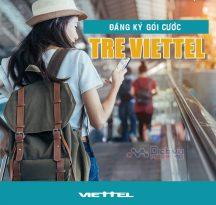 Gói cước TRE Viettel mới toanh ưu đãi cực khủng