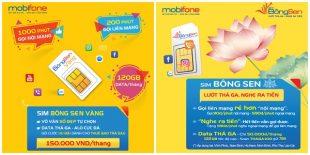 Sim Bông Sen của Mobifone gọi rẻ nhất, nghe được tiền